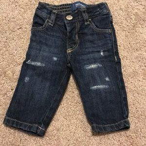 3-6 Month Baby Distressed Jeans